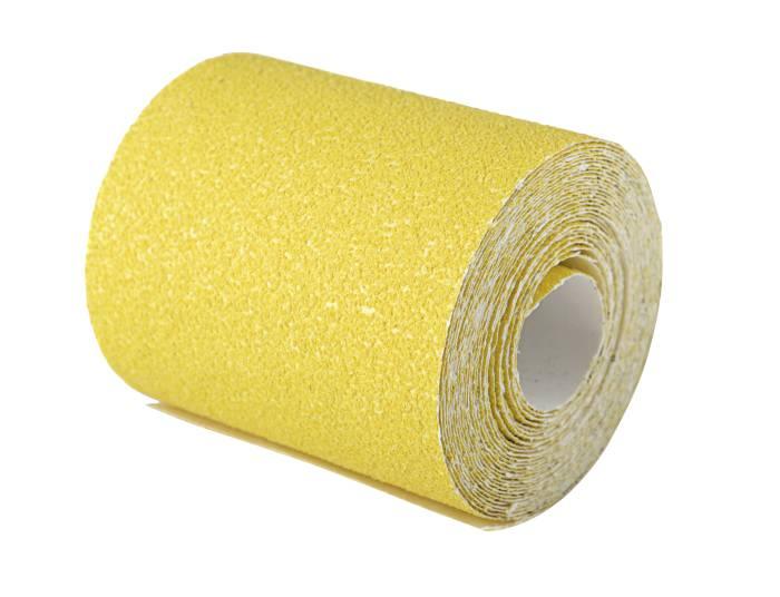 Sandpapir rulle korn 80 - 93 mm x 5 m