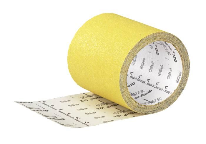 Sandpapir på rulle korn 120 - 115 mm x 5 m