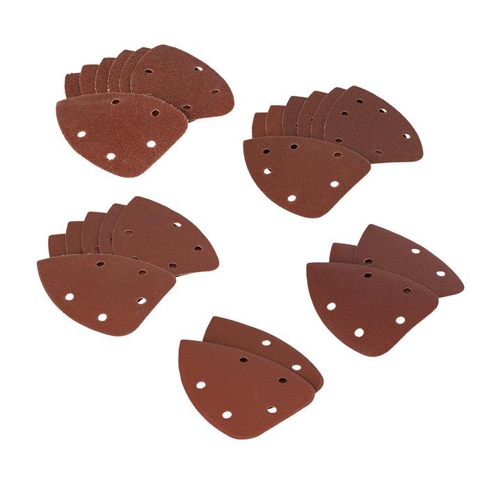 Falke slipepapir ass. kornstørrelser  til slipemus