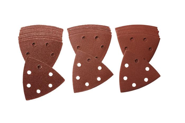 Falke slibepapir 93 x 93 x 93 mm til trekantsliber