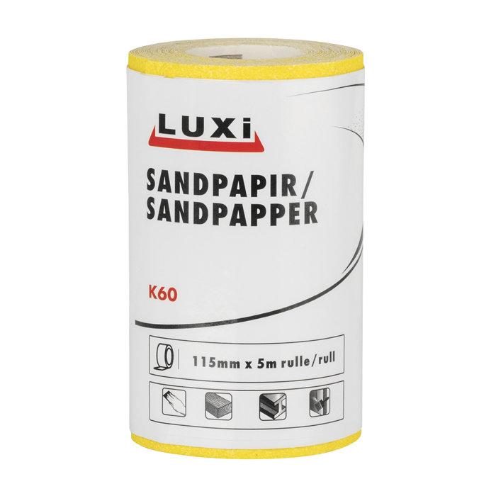 Sandpapir rulle korn 60 – 115 mm x 5 m