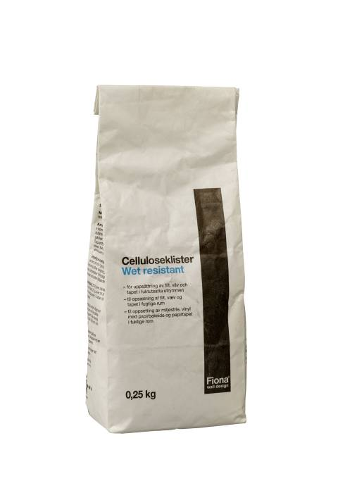 Tapetklister celluloseklister 250 gram - Fiona