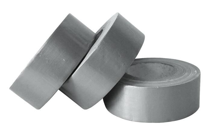 Gaffatape sølv 3 stk. á 32 meter