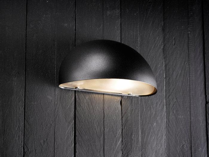 Vägglampa Scorpius E14 svart