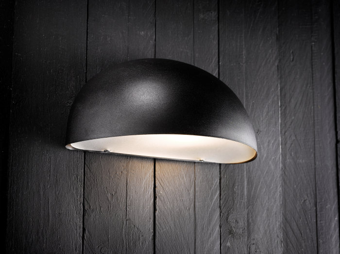 Vägglampa Scorpius Maxi svart