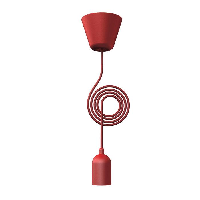 Nordlux Funk Pendelophæng rød/rød