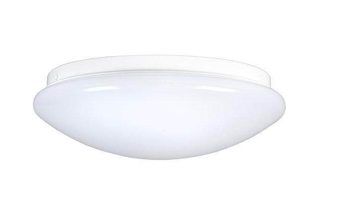 Taklampe Ø26 cm inkl. 12W LED-pære