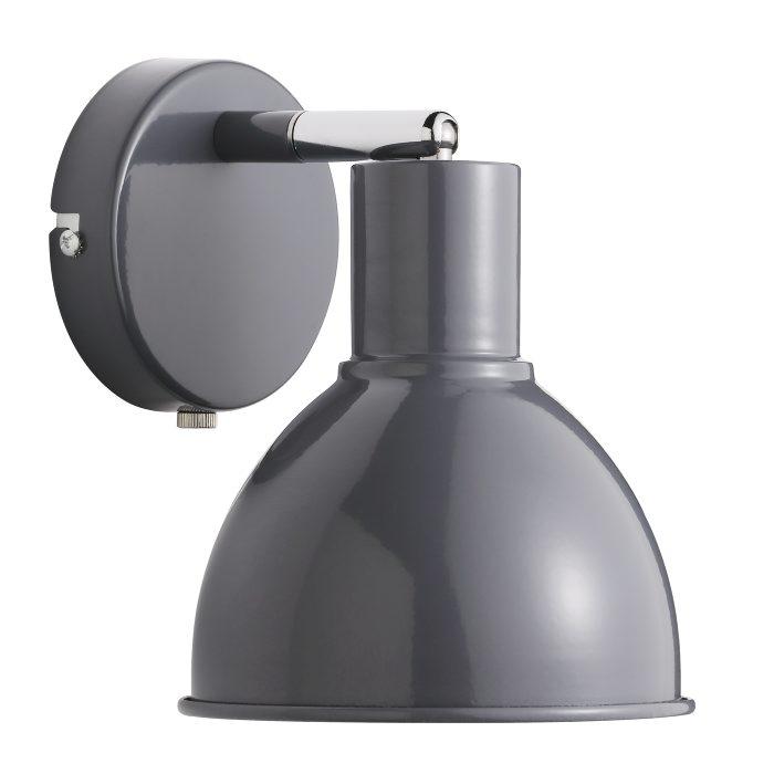 Nordlux Pop væglampe antracit