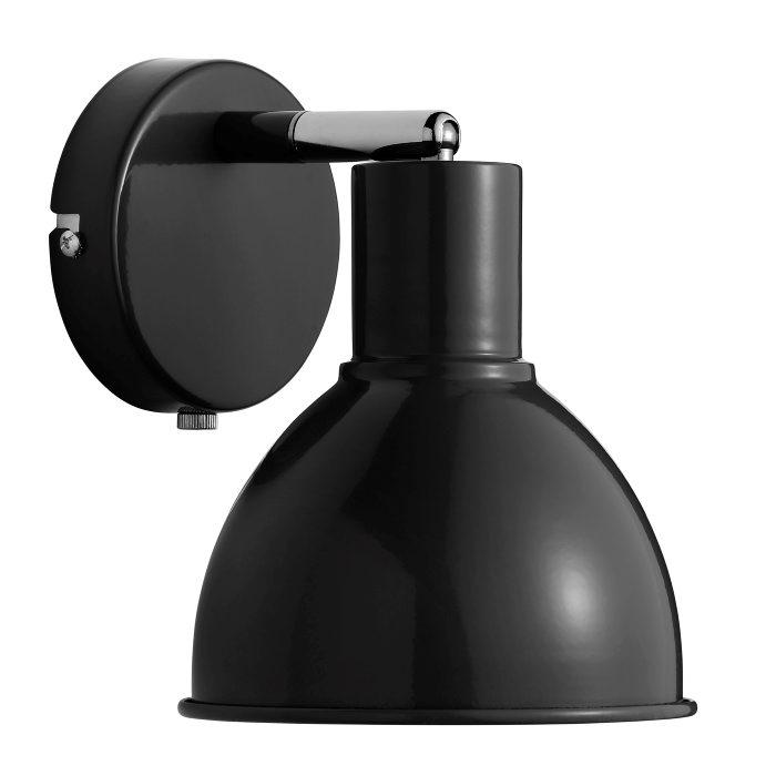 Nordlux Pop væglampe sort