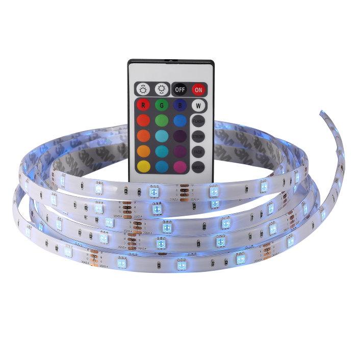 Nordlux LED-bånd fargeskift 3 meter