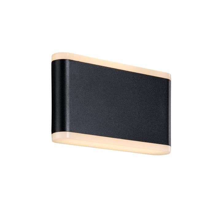 Nordlux Akron væglampe sort B17,5 cm