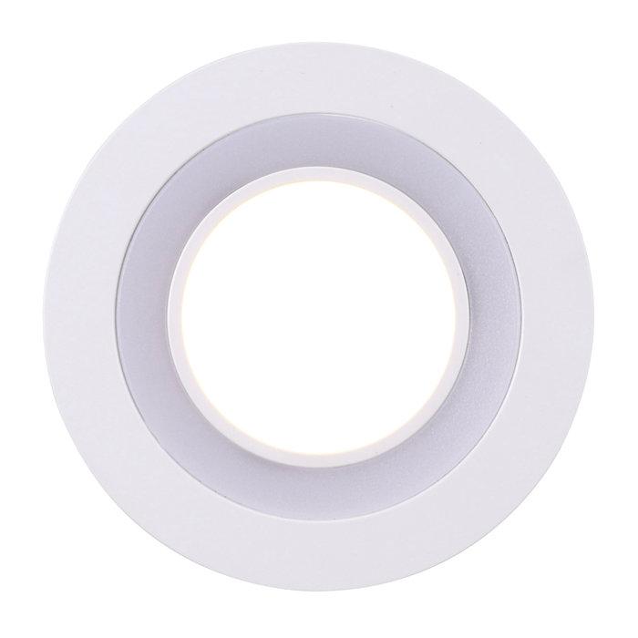 Nordlux Clyde 8 indbygningsspot hvid 5,5W LED