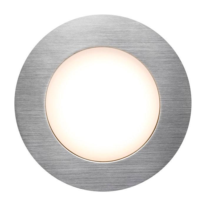 Inbyggnadsspot Naos Nickel LED IP65
