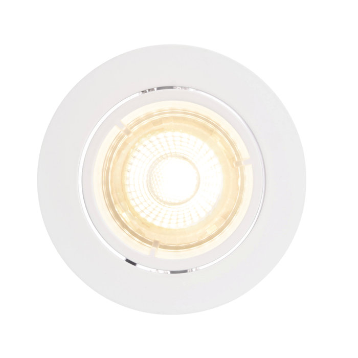 Inbyggnadsspot Volans Vit LED IP20