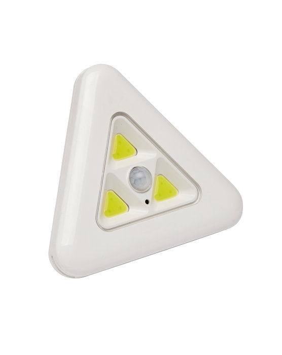 Hjørnelys/-spot 3 LED 8,5 x 8 cm