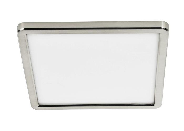 Nordlux Oja 29 plafond 29,4 x 29,4 cm nikkel