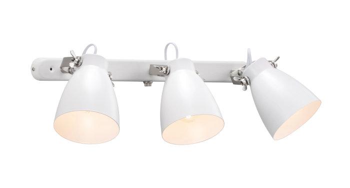 Nordlux Largo 3-skinne hvid