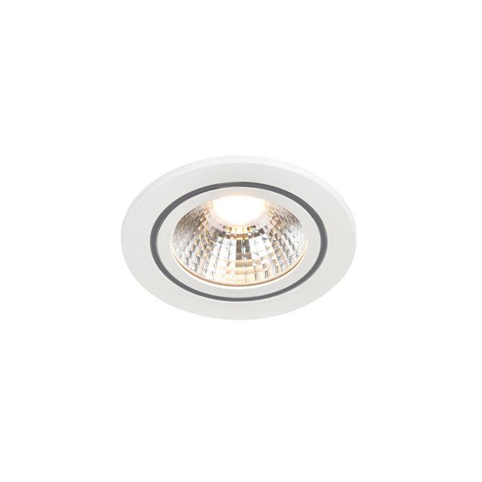 Nordlux Alec 6,1 W indbygningsspot LED hvid