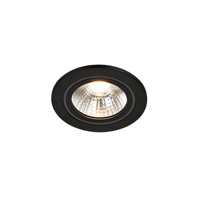 Nordlux Alec 6,1 W LED indbygningsspot sort