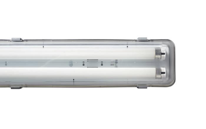 Industriarmatur inkl. 2 x 36W lysstofrør