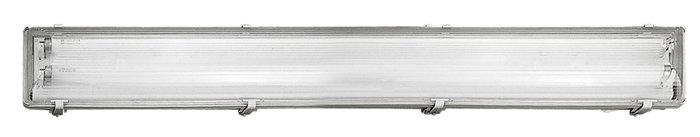 Lysrörsarmatur inkl. 2x36W rör