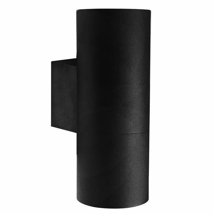 Nordlux Tin Maxi væglampe dobbelt sort