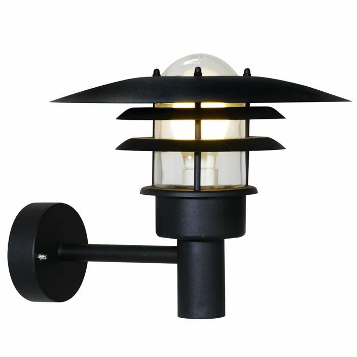 Nordlux Lønstrup 32 væglampe sort