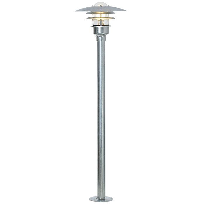 Nordlux Lønstrup havelampe Ø32 cm galvaniseret