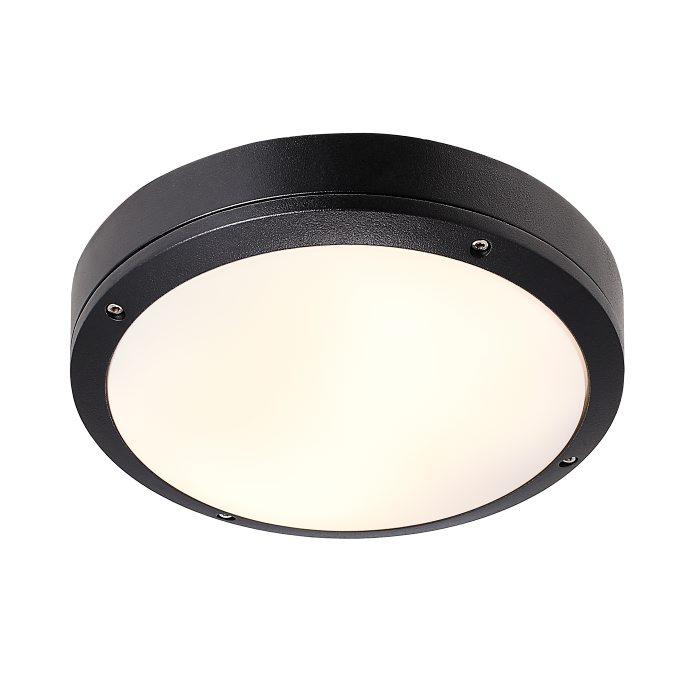 Nordlux Desi 28 cm sort udendørslampe
