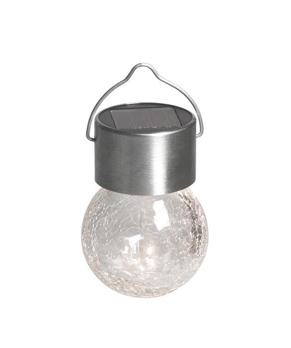 Solcellelampe t/oppheng led
