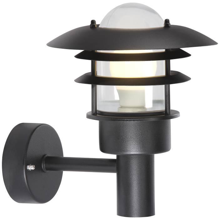 Nordlux Lønstrup 22 væglampe sort