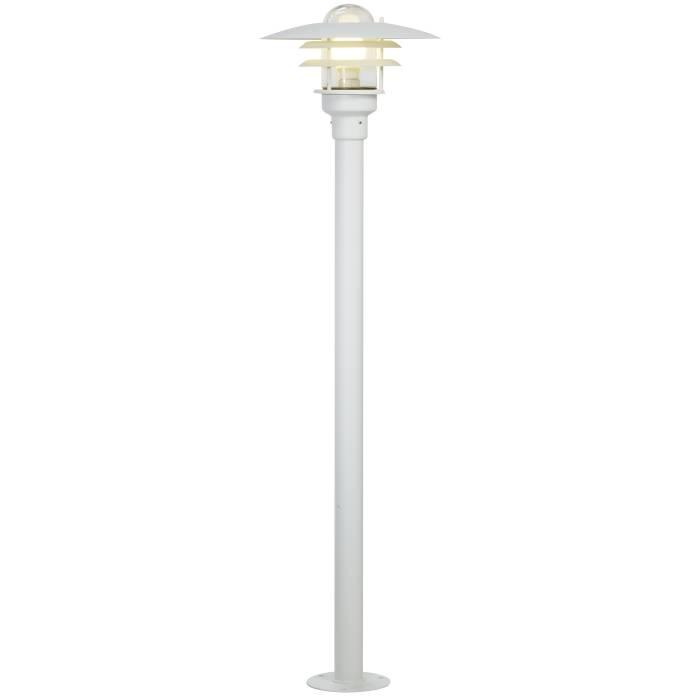 Nordlux Lønstrup havelampe Ø32 cm hvid