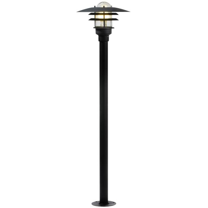Nordlux Lønstrup havelampe Ø32 cm sort