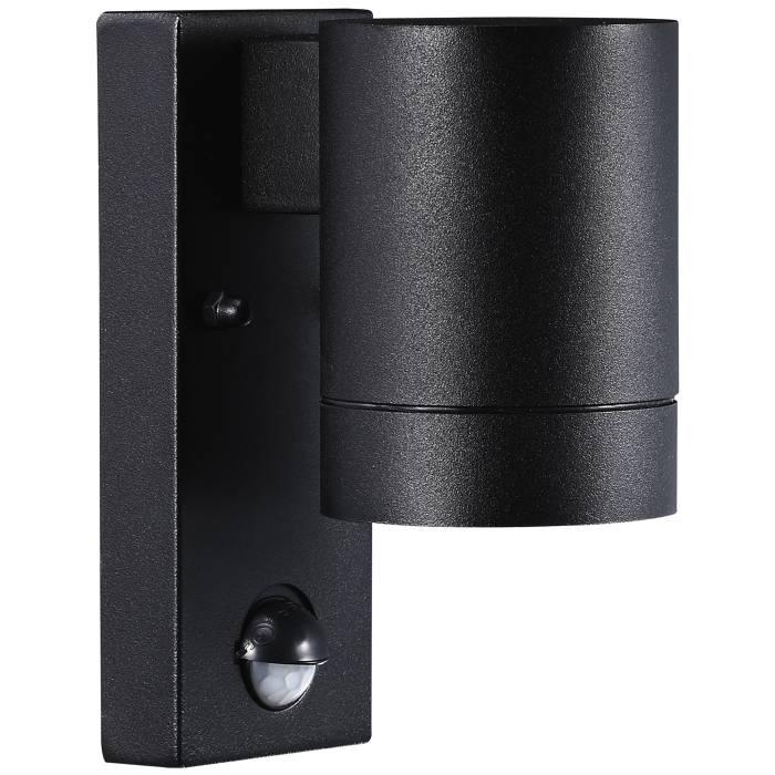 Nordlux Tin Maxi væglampe m/sensor sort