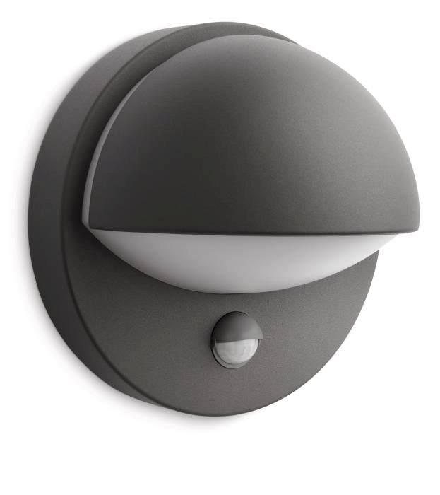 Vägglampa June med sensor
