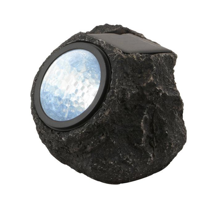 Solcellslampa LED Sten