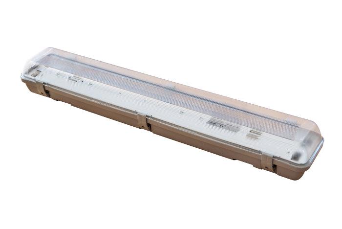 Lysrörsarmatur exkl. 2x18W lysrör