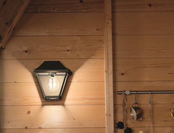 Vägglampa Alpenglow