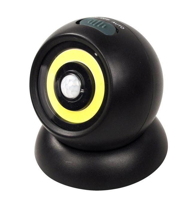 LED lampe med sensor