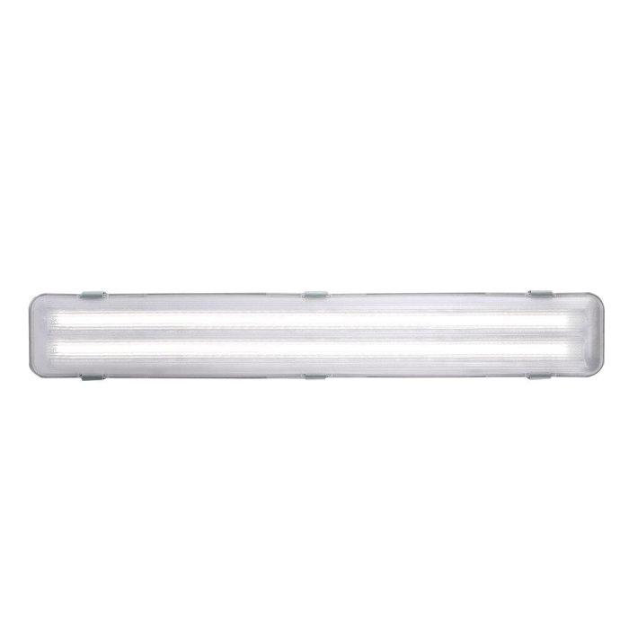 Lysrörsarmatur Works 2x9W LED