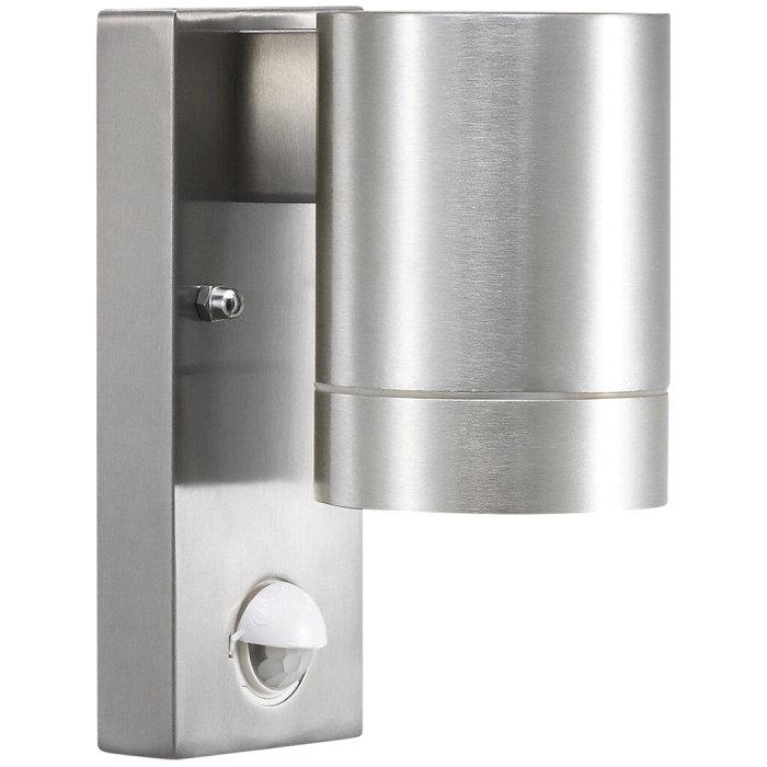 Väggspotlight Tin Maxi Sensor Alu