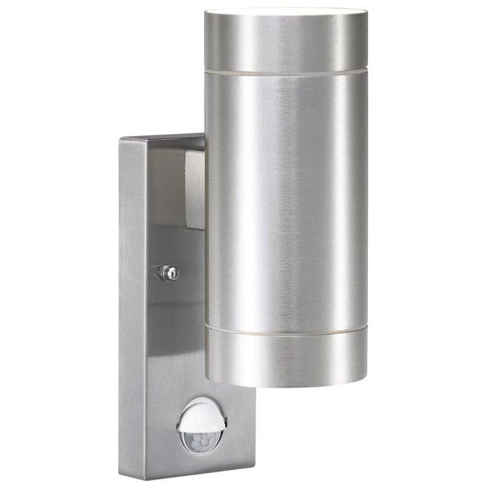 Väggspotlight Tin Maxi Alu Sensor