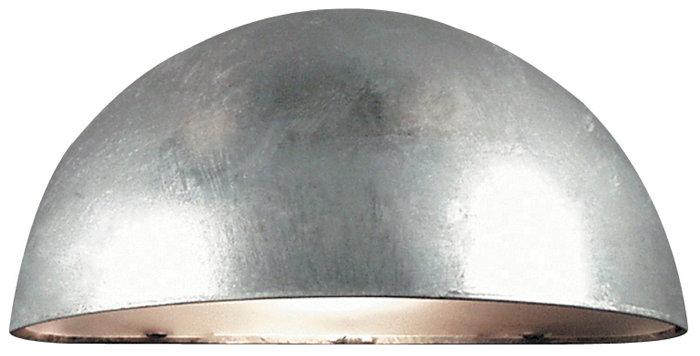 Nordlux Scorpius væglampe galvaniseret stål
