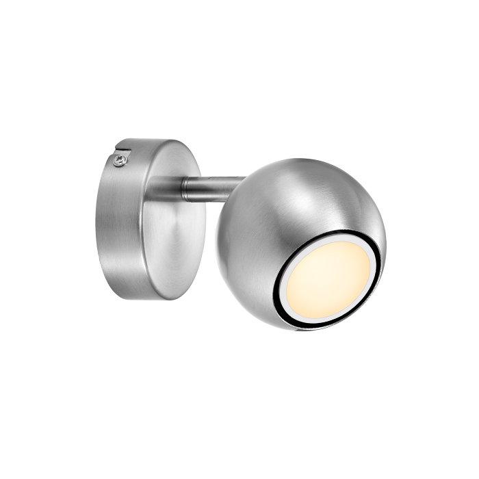 Nordlux Chicago væglampe spot børstet stål