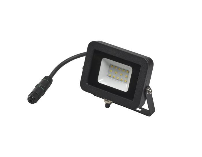 Projektør inkl. 10W LED-pære sort