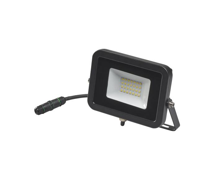 Projektør inkl. 20W LED-pære sort