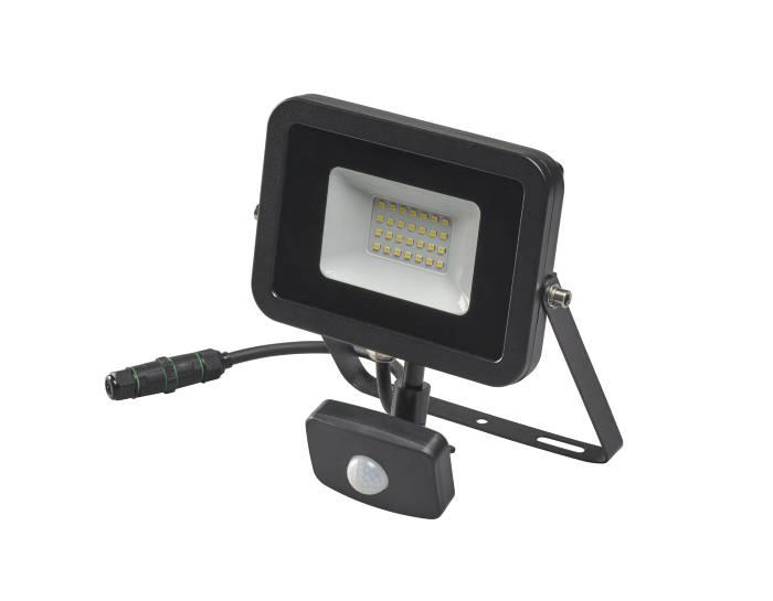 Projektør med sensor inkl. 20W LED pære | jem & fix