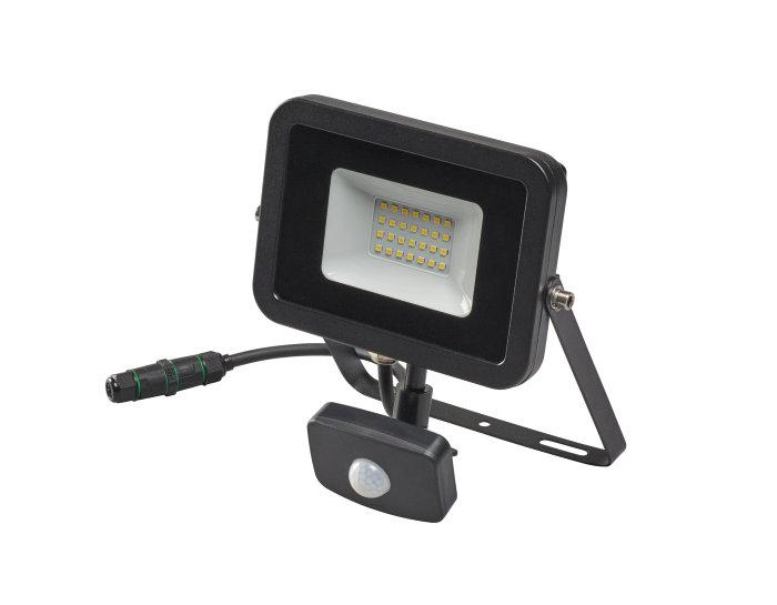 Lyskaster med sensor og 20W LED pære