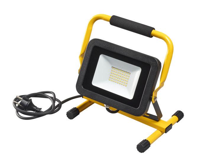 Arbeidslampe på stativ
