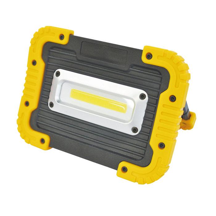 Arbejdslampe 10W batteridrevet
